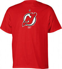 NEW JERSEY DEVILS MEN'S RED PRIMARY LOGO TEE SHIRT