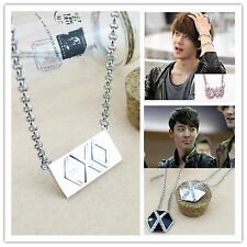 K POP EXO,EXO-K EXO-M SE HUN same logo necklace,Mini necklace MAMA