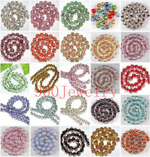 12mm Handmade Round Ball Foil Lampwork Glass Loose Beads Charms Jewelry Findings