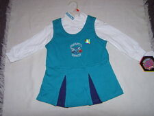 NBA Charlotte Hornets Girls Infant Cheerleader Dress Sz 12M, 18M & 24M NWT