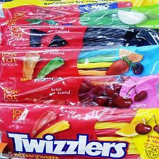Twizzlers Fruity Flavored Licorice Big Bag Chewy Candy ~ Pick One