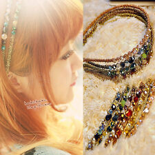 Hot Korean Fashion Women Girl Shining Handcraft Headband Hair Band Hairpin New