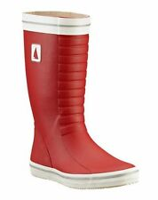 Musto classic deck wellie boot - Red