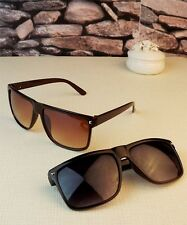 New Unisex Rretro Rivets Decorated Glasses Square Influx of People Sunglasses
