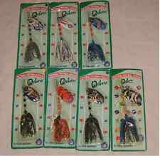 OXBORO NFL VARIOUS TEAMS RAVENS PATRIOTS BEARS IN LINE SPINNER FISHING LURE NWT