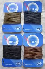 100% Linen Thread 10 Meters Leather Canvas Upholstery Jewellery