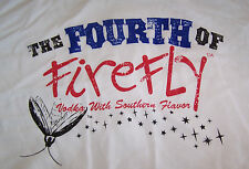 NEW Firefly Vodka T-Shirt 4th Fourth July Sweet Tea Southern L XL XXL