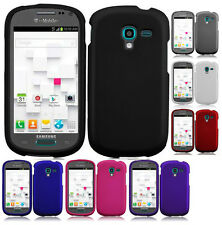T-Mobile Samsung Galaxy Exhibit T599 Rubberized HARD Case Snap On Phone Cover