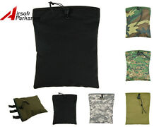 Molle Belt Tactical Magazine Tool DUMP Drop Pouch Bag Airsoft Military Paintball