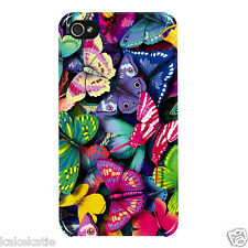 Butterfly colour iphone 4 4s hard back case skins cover for i phone Butterflies