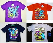 MONSTERS INC. UNIVERSITY MIKE & SULLEY Tees T-shirt Boys Size 4, 5/6 or 7  $20