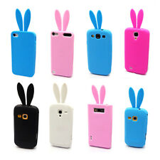 More Color HOT Bunny Rabbit TPU Skin Case Cover for Multi Phone Model