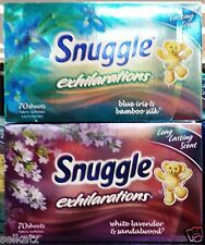 Snuggle Exhilarations Scented Clothes Dryer Sheets Fabric Softener ~ Pick One