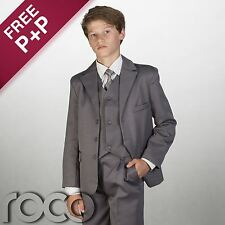 Boys Grey Suit, Page Boy Outfits, Kids Suits, Boys Wedding Suits, Prom Suits