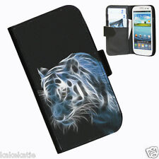 Cats Leather wallet case for Samsung Galaxy S3 i9300 Kitten Tiger Lion Leopard