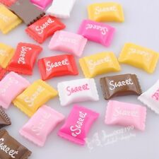 30pcs Upick Color Resin Candy Flatback Buttons Scrapbooking DIY Appliques JOB076