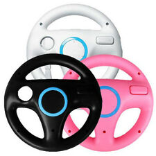 4Color Steering Wheel For Nintendo Wii Mario Kart Racing Games Remote Controller