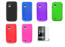 LCD + Soft Silicone Cover Case for Samsung Galaxy S Fascinate SCH-i500v Phone