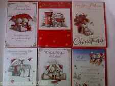 Christmas Card / Cards Mum and Dad, Mum, Dad, Both of You ~ New
