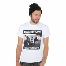 Beastie Boys - Check Your Head T-Shirt WHITE