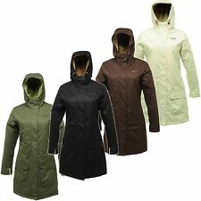 Regatta Women Waterproof & Breathable Jacket Luna Luv Faux Fur Lined Long Jacket