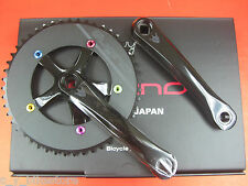 Sugino Cool Messenger Track Crankset Fixed Gear 1/8 x 46T/48T 165mm Black