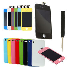 GSM LCD Touch Screen Digitizer Housing Full Set Assembly for iPhone 4 4G + Tool