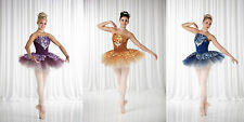 Sugar Plum Christmas Ballet Tutu Dance Costume Copper Blue CXS- 2XL    13-298