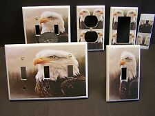 AMERICAN BALD EAGLE   IMAGE 2  LIGHT SWITCH COVER PLATE OR OUTLET