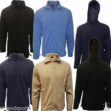Fleece Jackets Mens Full Zip Quarter Zip And Hoodies Henbury Anti Pill New