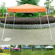 Outdoor 10' x 10'Pop Up party Tent Patio gazebo Canopy Shelter