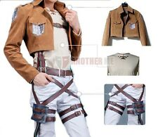 Another Me Attack on Titan Shingeki no Kyojin Eren Jaeger Cosplay Party Costume
