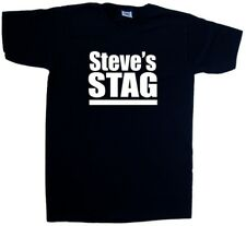 Custom Personalised Stag V-Neck T-Shirt