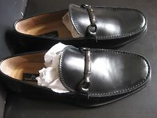 """NEW MARC ANTHONY """"MAREX"""" LEATHER LOAFER   SLIP ON LOAFERS PREMIUM SLIP ON SHOES"""