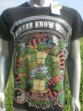Official Teenage Mutant Ninja Turtles TMNT Ninjas Know Best T Shirt S M L