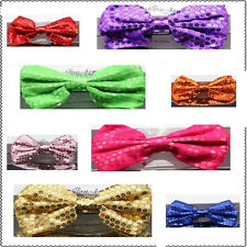 New SEQUENCED  ladies girl kids stain bow hair clip accessorize UK first class