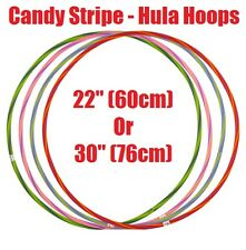 Childrens Hula Hoops Durable Plastic Indoor Outdoor Fitness Gymnastic Mulicolour