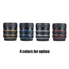 Colorful Metal TTL Auto Focus AF Macro Extension Tube Ring fr Canon EOS EF EF-S