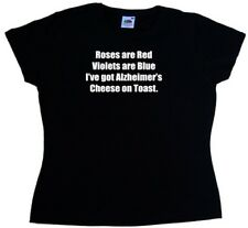 Alzheimers Cheese On Toast Funny Ladies T-Shirt