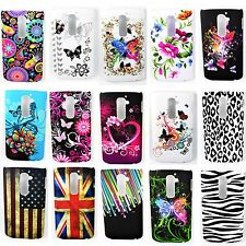 Hard Graceful Pattern Shell Phone Skin Plastic Case Cover Fit For LG Optimus G2