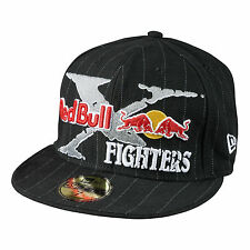 Fox Racing Red Bull X-Fighters Core New Era Fitted Black Hat Cap Lid XFighters