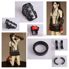 New Another Final FantasyVII Cosplay Prop TIFA Lockhart Bracelet & Elbow Pad A&B