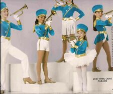 Parade 2037 Pageant Outfit  band jazz tap christmas competition dance costume