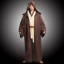 Hot Star Wars Obi-Wan Kenobi Jedi Knight Suit Cloak Cape Cosplay Costume Gifts