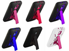 Kickstand Hybrid Armor Cover Case for Samsung Galaxy SII X S2X T989d Telus Phone