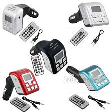 Bluetooth Car MP3 Player Handsfree FM Transmitter USB/SD with Remote control