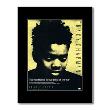 TRACY CHAPMAN - Debut Album Matted Mini Poster