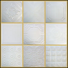 Tin-Look Ceiling Tiles Easy Installation Diff Patterns
