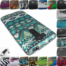 FOR LG G2 2013/G3 2014/G VISTA GRAPHIC DESIGN SNAP-ON CASE COVERS+STYLUS/PEN