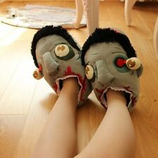 Unisex Warm Winter Slippers Zombie Plush Shoes Adult Shoe Gift New
